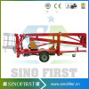 14m 16m Towable Articulating Boom Lift Bucket Lift for Sale