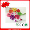 Colorful Flat USB Cable for iPhone5 5s