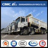 JAC 8*4 Dump Truck with Cimc Huajun Upper Body