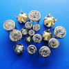 Rhinestone Prong Snap Buttons for Clothing
