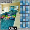 Swimming Pool Blue and White Mixed Color Mosaic Tiles