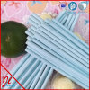 Crazy Plain Light Blue Paper Straw Party Products