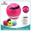 2014 New Colorful Ball Shaped Bluetooth Mini Speaker with Hands Free Voice Prompt TF Card Slot FM Radio (SMS-BT08)