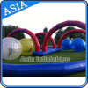 75′ Criss Cross Collision Course, Inflatable Race Track Sport Games