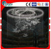 Hotel Decoration Digital Water Curtain Graphic Fountain