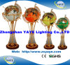 Yaye 18 Hot Sell Ce/RoHS Lighting Gemstone Globe / Gemstone Globe / World Globe / Decorative Gifts