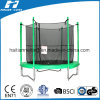Round Cheap Trampoline with Enclosure Outside