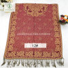 National Style Spun Gold Jacquard Shawl Lady Fashion Scarf