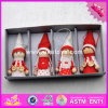 017 New Products Baby Cartoon Dolls Wooden Best Selling Toys W02A235