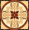 Flower Pattern Carpet Tile Polished Crystal Ceramic Floor Tile 1200X1200mm (BMP37)