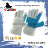 Double Palm Cow Split Leather Industrial Safety Work Glove