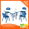 Mosaic Kids Daycare Furniture Plastic Low Study Table for Kindergarden