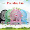 Unique New Design Portable USB Fan Rechargeable Mini USB Fan LED Light USB Mini Fan