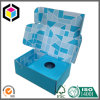 Color Print Folding Cardboard Paper Shipping Box with Holder