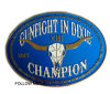 Champion Belt Buckle for Garment Accessories. Gift and Button
