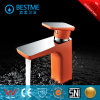 Popular Orange Color Brass Basin Mixer (BM-B10030F)
