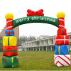 Inflatable Fabric Bottle Arch for Xmax Decoration