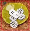 Pattern Button Resin Round Men′s Coat Button