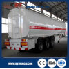 Petroleum 45000L Steel Fuel Tanker Semi Trailer Export to Tanzania