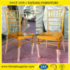 Aluminum Stackable Chiavari Chair for Wedding and Hotel