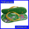 Bright Color PE Flip Flops Fashion Slipper