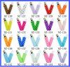 Baby New Design Pacifier Clip Popular Cartoon Figures Printed Pacifier Holder with Hanging Clips