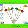 Decoration Bamboo Party Food Picks Decorative Cocktail Fruit Pick