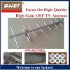 High Temperature Resistant and Corrosion Resisting UHF Yagi TV Antenna with RG6 Cables for Africa Market