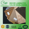 Wood Grain Laminate Kitchen Cabinets/Formica Laminate