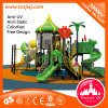 Amusement Kids Plastic Outdoor Playground Equipment Slide