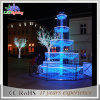 Christmas Commercial Street Decorations 3D Fountain Motif Light
