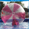 Red Water Walking Ball with Tizip and TPU Material Size D=2m for One Person