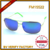 New Metal Sunglasses with Blue Polarized Lens, High Quality FM15522