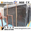 High Quality Black Natural China Marron Emperador Marble