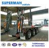 50t 13m 3 Axle Cargo Lowbed/Lowdeck Semi Trailer Lowloader
