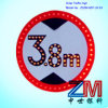 High Brightness Solar Traffic Sign for Height Limit