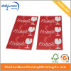 Red Logo Printing Sticker Customized Paper Sticker