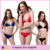 2016 Wholesale Newest Europe America Style Spliced Mesh Two Piece Tankinis Bikini