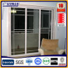 European Style White Color Aluminium PVC Sliding Window with Grills
