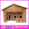 2014 New Kids Wooden House Toy, Popular Children Wooden House Toy and Hot Selling Baby Wooden House Toy W06A076