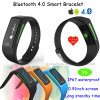 2016 New Design IP67 Waterproof Bluetooth 4.0 Smart Bracelet with Heart Rate Monitor (V6)