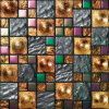 Home Builidng Material Tile Golden Glass Art Mosaic (VMW3624)