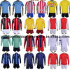 Long and Short Sleeve Men's 100% Embroidery Soccer Jersey, Men's Soccer Uniform, Fashion Football Shirts