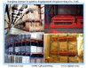 Warehouse Heavy Duty Gravity Storage Push Back Shelf