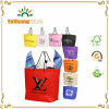 Eco Cheap Non-Woven Gift Bags with Rope Handle & Gusset with Custom Logo Printing