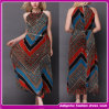 2014 Latest Fashion Lady Beaded Neck Evening Dress (E-0039)