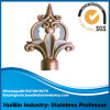 16/19mm Fancy Curtain Finials with Diamond, Glass Curtain Rod Finials Curtain Pole Finals