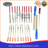 Electroplated diamond file: diamond tool