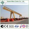 MH Type Truss Frame Single Girder Hoist Gantry Crane