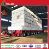 Muti-Axles Low Bed Modular Semi Trailer with Length Opptional